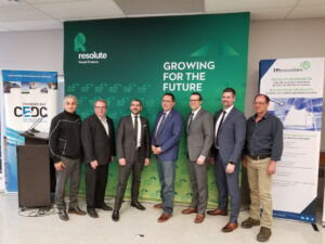 FPInnovations and Resolute Inaugurate Thermomechanical Pulp Bio-Refinery in Thunder Bay