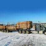 En route vers l'utilisation de trains B à 9 essieux partout au Canada : un camion forestier plus sécuritaire et plus efficace pour l'avenir