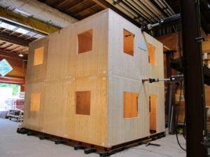 Full Scale CLT House Testing