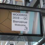 La deuxième édition du congrès international Woodrise s'ouvre aujourd'hui à Québec