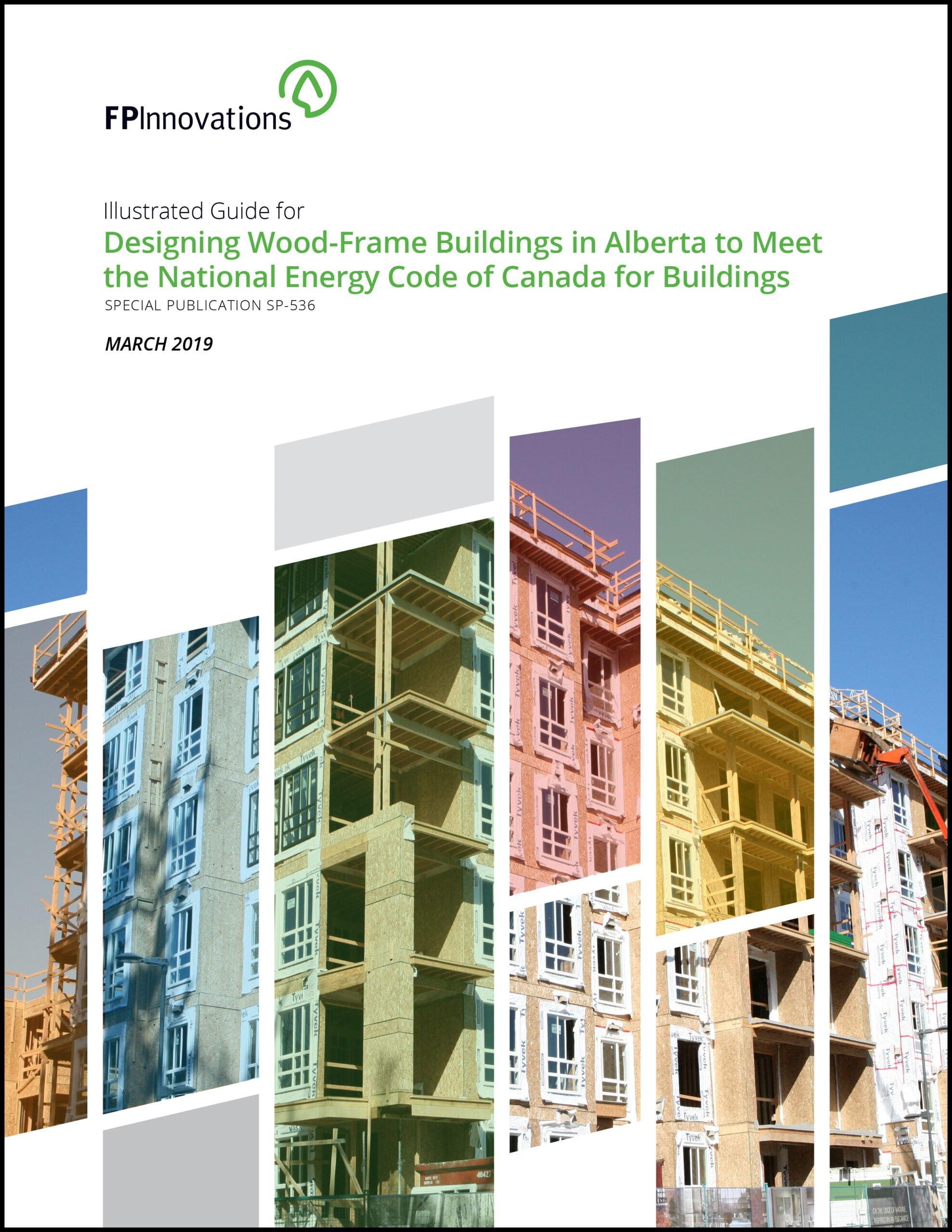 Cover of Alberta guidebook for wood buildings