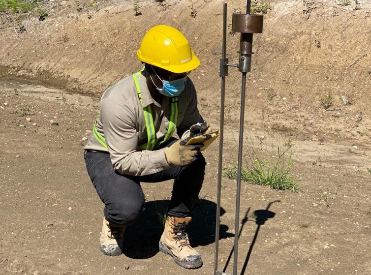 Measurement of bearing capacity