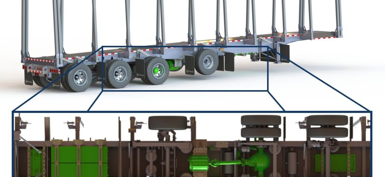 hybrid trailer-truck