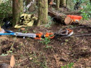 lighter forestry equipment haulback block