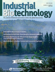 Cover of Industrial Biotechnology journal