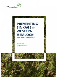 Preventing sinkage of western hemlock